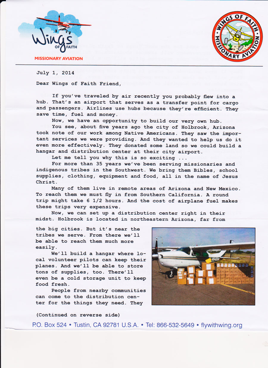 fundraising appeal letter for wings of faith fundraising appeal letter fundraising appeal letter